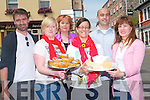 Killorglin's top restaurants and renowned chefs will be celebrated in a Flavour of Killorglin taking place from July 5th to 7th. <br /> Front L-R Cliona Dwyer, Evelyn O'Mahony Kennedy and Frances Bailey. <br /> Back L-R Carlos Bras, Celine Healy and Niall Lagrue.