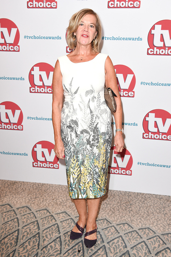 Caroline Pickles<br /> arriving for the TV Choice Awards 2017 at The Dorchester Hotel, London. <br /> <br /> <br /> ©Ash Knotek  D3303  04/09/2017