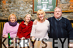 Nora Bourke, Debra O Leary, Mary O Regan and Pat Keane (team captain) at the Greyhound Bar Golf Society Charity Quiz in aid of Recovery Haven on Thursday