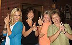"""General Hospital's Kelly Sullivan """"Kate"""" & fans (Charlie's Angels) at Uncle Vinnie's Comedy Club on September 9, 2012 in Pt. Pleasant, New Jersey to see their fans for autographs, meet/greet and photos.  (Photo by Sue Coflin/Max Photos)"""