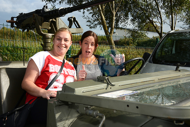Mammies on a mission – Cathy Lynch and Lorraine Fitzpatrick enjoying  themselves at the Boyne Fishermen's Rescue and Recovery Service Open Day.