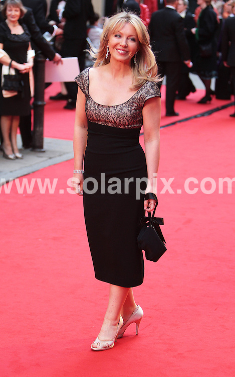 **ALL ROUND PICTURES FROM SOLARPIX.COM**.**NO UK NEWSPAPER PUBLICATION **UK MAGAZINE & SUPPLEMENT PUBLICATION ONLY** AND NO PUBLICATION IN FRANCE, SCANDINAVIA, AUSTRALIA AND GERMANY** .The British Academy TV Bafta Awards at the London Palladium..This pic:Kirsty Young.JOB REF:6191-SFE       DATE:20_04-08 .**MUST CREDIT SOLARPIX.COM OR DOUBLE FEE WILL BE CHARGED* *UNDER NO CIRCUMSTANCES IS THIS IMAGE TO BE REPRODUCED FOR ANY ONLINE EDITION WITHOUT PRIOR PERMISSION*