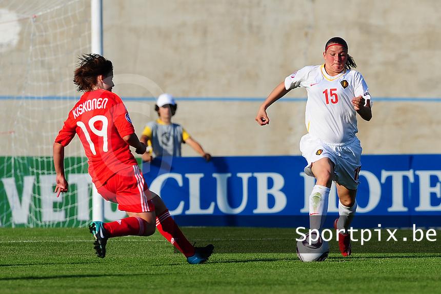 European Women's Under - 19 Championship 2011 Italy : Russia - Belgium U19 : .foto DAVID CATRY / VROUWENTEAM.BE