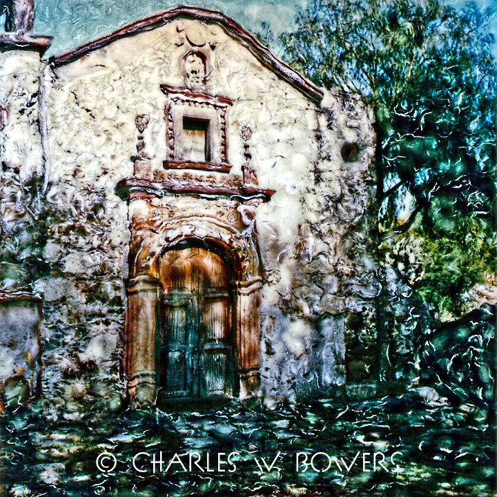 The Old San Miguel Church served as a santuary for centeries.<br />