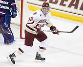 Kevin Hayes (BC - 12) - The Boston College Eagles defeated the visiting University of Massachusetts-Lowell River Hawks 5-3 (EN) on Saturday, January 22, 2011, at Conte Forum in Chestnut Hill, Massachusetts.