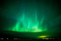 Northern lights or aurora borealis<br /> Selkirk<br /> Manitoba<br /> Canada