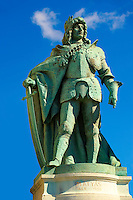 Statue of King Matyas - H?sök tere, ( Heroes Square ) Budapest Hungary