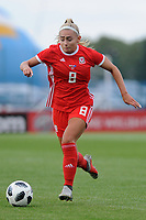 Charlie Estcourt of Wales Women's' in action during the Women's International Friendly match between Wales and New Zealand at the Cardiff International Sports Stadium in Cardiff, Wales, UK. Tuesday 04 June, 2019