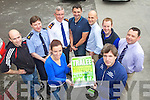 Members of Tralee Garda Station starting their training for Tralee International Marathon taking place 16th March, 2013, from left: Garda Danielle Hegarty, Marcus Howlett (race director), Garda Neil Sullivan, Garda John Ryan, Superintendent Jim O'Connor, Garda Eoin Donovan, Garda Tim O'Keeffe, Garda James Hurley and Garda Mick Courtney.