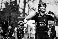 Jolien d'Hoore (BEL/Wiggle-High5) wins her 2nd national elite title<br /> <br /> 2017 National Championships Belgium WE - Elite Women - Road Race (NC)<br /> 1 Day Race: Antwerpen > Antwerpen (102km)