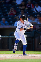 Surprise Saguaros Ryan O'Hearn (21), of the Kansas City Royals organization, during a game against the Salt River Rafters on October 17, 2016 at Surprise Stadium in Surprise, Arizona.  Surprise defeated Salt River 3-1.  (Mike Janes/Four Seam Images)