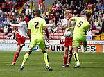 Callum Semple of Sheffield Utd send the ball towards goal during the PDL U21 Final at Bramall Lane Sheffield. Photo credit should read: Simon Bellis/Sportimage