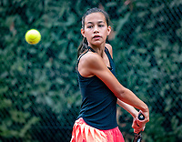 Hilversum, Netherlands, August 8, 2018, National Junior Championships, NJK, Diede van der Gelder (NED)<br /> Photo: Tennisimages/Henk Koster