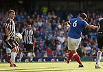 Lee McCulloch scores his second and Rangers fifth goal