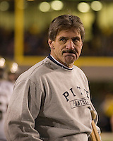 01 December 2007: Dave Wannstedt..The Pitt Panthers upset the West Virginia Mountaineers 13-9 on December 01, 2007 in the 100th edition of the Backyard Brawl at Mountaineer Field, Morgantown, West Virginia.