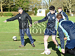 Drogheda United coach Mark Kinsella pictured at a club trainig session at Mosney. Photo:Colin Bell/pressphotos.ie
