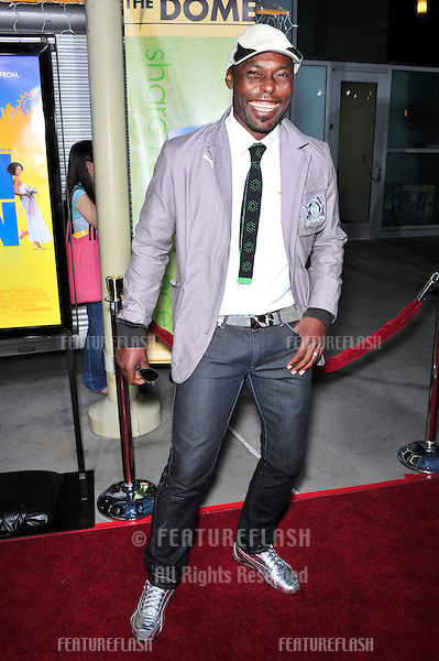 "Jimmy Jean-Louis at the Los Angeles premiere of ""Run Fat Boy, Run"" at the Arclight Theatre, Hollywood..March 24, 2008  Los Angeles, CA.Picture: Paul Smith / Featureflash"