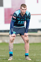 Picture by Allan McKenzie/SWpix.com - 25/03/2018 - Rugby League - Betfred Championship - Batley Bulldogs v Featherstone Rovers - Heritage Road, Batley, England - Josh Hardcastle.