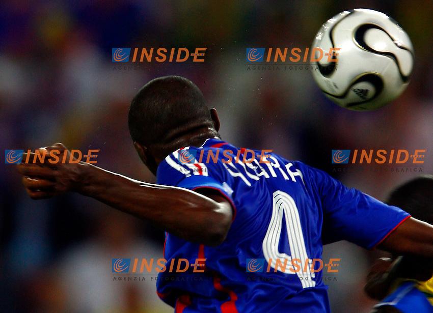 Colonia 23/6/2006 World Cup 2006.Togo Francia 0-2.Photo Andrea Staccioli Insidefoto.Patrick Vieira Francia