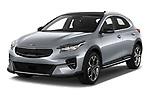 2020 KIA XCeed Sense 5 Door SUV Angular Front automotive stock photos of front three quarter view