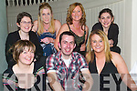 SOCIAL:  enjoying the craic at the Badminton Social in the Listowel Arms Hotel on Saturday night