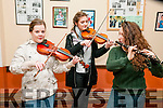 Felie Feabhra: Practicing  at the annual Feile Feabhra organised by the Lixnaw branch of CCE at the Ceolan Centre, Lixnaw on Saturday last were Alannah Kissane, Susie Di Ris & Ciara Shannon.
