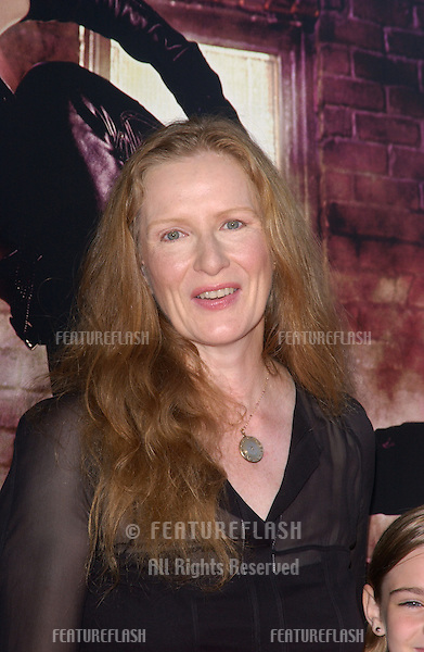 Actress FRANCES CONROY & family at the world premiere, in Hollywood, of her new movie Catwoman..July 19, 2004