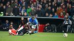 28.11.2019: Feyenoord v Rangers: Sheyi Ojo fouled in the box but no penalty