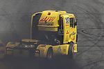 Spanish driver Alberto Mila Monteserin belonging Spanish team Alberto Mila Monteserin during the third race R3 of the XXX Spain GP Camion of the FIA European Truck Racing Championship 2016 in Madrid. October 02, 2016. (ALTERPHOTOS/Rodrigo Jimenez)