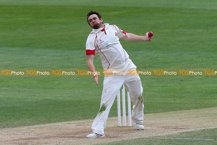 Stephen Parry in bowling action for Lancashire during Essex CCC vs Lancashire CCC, Specsavers County Championship Division 1 Cricket at The Cloudfm County Ground on 10th April 2017