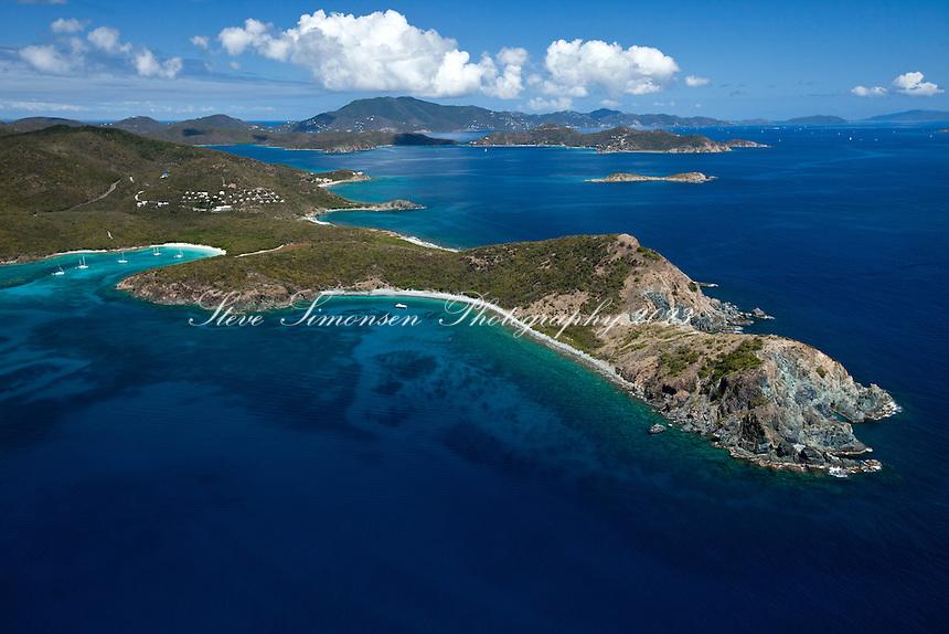 Ram Head and Salt Pond Bay.Virgin Islands National Park.St. John.U.S. Virgin Islands