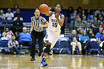 22 November 2015: Duke's Kyra Lambert. The Duke University Blue Devils hosted the United States Military Academy at West Point Army Black Knights at Cameron Indoor Stadium in Durham, North Carolina in a 2015-16 NCAA Women's Basketball Exhibition game. Duke won the game 72-61.