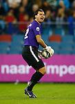 Nederland, Arnhem, 6 oktober 2012.Eredivisie.Seizoen 2012-2013.Vitesse-SC Heerenveen (3-3).Piet Velthuizen, doelman (keeper)  van Vitesse