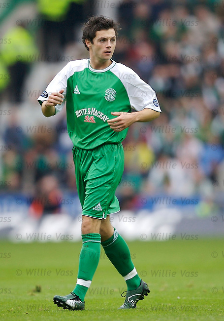 Ivan Sproule, Hibs.stock season 2006-2007.pic willie vass