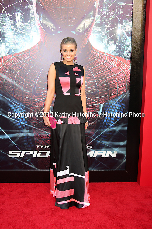 "LOS ANGELES - JUN 28:  Carmen Electra arrives at the ""The Amazing Spider-Man"" Premiere at Village Theater on June 28, 2012 in Westwood, CA"