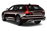 Car pictures of rear three quarter view of a 2018 Volvo V90 Corss Country Pro 5 Door Wagon angular rear