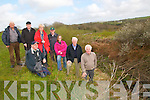 Great Southern Trail: Member of the North Kerry Great Southern Trail Committee pictured on the side of the old railway line in  Cahirdown on Monday last. Front : Paddy Keane. back : Jimmy Beasley, Liam Grimes, Daisy Foley, Sheamus O'Conor, Elaine Worts, Michael Caffrey & Michael Guerin.