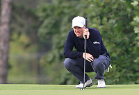 Richard McEvoy (ENG) on the 2nd green during Round 4 of the D+D Real Czech Masters at the Albatross Golf Resort, Prague, Czech Rep. 03/09/2017<br /> Picture: Golffile | Thos Caffrey<br /> <br /> <br /> All photo usage must carry mandatory copyright credit     (&copy; Golffile | Thos Caffrey)