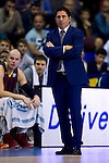 FC Barcelona's coach Xavi Pascual during Liga Endesa ACB 2013-2014 match against Gipuzkoa Basket Club. November 3, 2013. (ALTERPHOTOS/Alex Caparros)