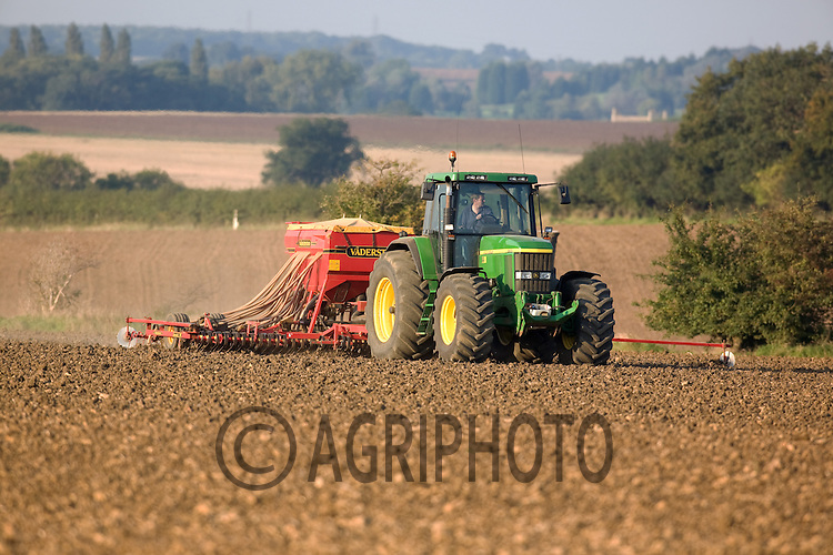 Drilling Wheat In Rutland