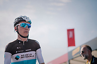 Romain Bardet (FRA/AG2R-La Mondiale) at sign-on / pre-race<br /> <br /> Stage 1: Noirmoutier-en-l'Île > Fontenay-le-Comte (189km)<br /> <br /> Le Grand Départ 2018<br /> 105th Tour de France 2018<br /> ©kramon
