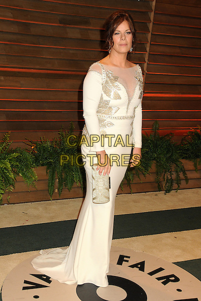 02 March 2014 - West Hollywood, California - Marcia Gay Harden. 2014 Vanity Fair Oscar Party following the 86th Academy Awards held at Sunset Plaza.  <br /> CAP/ADM/BP<br /> &copy;Byron Purvis/AdMedia/Capital Pictures