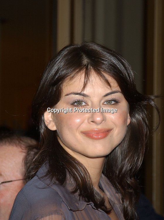 ".Oksana Lada.arriving at the opening of the 41st New York Film Festival .screening of "" Mystic River"" on October 3, 2003 in New York City. Photo By Robin Platzer, Twin Images"