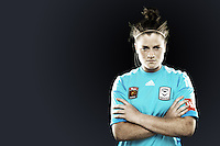 Brianna Davey has been an ever-present between the sticks for Melbourne Victory since her breakthrough in Season 4. The young goalkeeper displaced Matildas captain Melissa Barbieri as the latter left for Newcastle Jets, but more than filled her gloves as she went from strength to strength during the season. //  The 17 year old phenom is now a full-fledged international after making her Matildas debut against Haiti in 2012, and plays for the NTC team during the off-season. //  (Copyright Photo Sydney Low. Text Zee Ko)