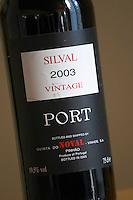 vintage silval 2003 quinta do noval douro portugal