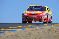 Jun. 21, 2009; Sonoma, CA, USA; NASCAR Sprint Cup Series driver Marcos Ambrose during the SaveMart 350 at Infineon Raceway. Mandatory Credit: Mark J. Rebilas-