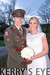 Michelle McCarthy, Tralee, daughter of Sean and Catherine McCarthy, and Captain James Ledingham, Waterford, son of Edmond and Kay Ledingham, were married at St. Johns Church Tralee, by Fr. Sean Hannifin on Tuesday 30th December 2014 with a reception at Ballygarry House Hotel