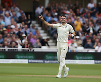 England's James Anderson celebrates taking the wicket of South Africa's Heino Kuhn<br /> <br /> Photographer Stephen White/CameraSport<br /> <br /> Investec Test Series 2017 - Second Test - England v South Africa - Day 1 - Friday 14th July 2017 - Trent Bridge - Nottingham<br /> <br /> World Copyright &copy; 2017 CameraSport. All rights reserved. 43 Linden Ave. Countesthorpe. Leicester. England. LE8 5PG - Tel: +44 (0) 116 277 4147 - admin@camerasport.com - www.camerasport.comEngland's James Anderson celebrates taking the wicket of South Africa's Dean Elgar<br /> <br /> Photographer Stephen White/CameraSport<br /> <br /> Investec Test Series 2017 - Second Test - England v South Africa - Day 1 - Friday 14th July 2017 - Trent Bridge - Nottingham<br /> <br /> World Copyright &copy; 2017 CameraSport. All rights reserved. 43 Linden Ave. Countesthorpe. Leicester. England. LE8 5PG - Tel: +44 (0) 116 277 4147 - admin@camerasport.com - www.camerasport.com