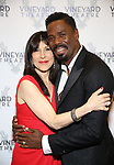 Catherine Schreiber and Colman Domingo attends the Vineyard Theatre Gala honoring Colman Domingo at the Edison Ballroom on May 06, 2019 in New York City.