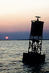 Early Morning at Bell Buoy Number 25 in Boothbay Region Maine